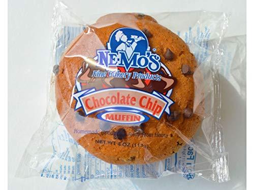 NeMos Chocolate Chip Muffin 4 Ounce  12 per case