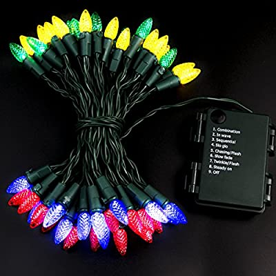 Battery String Lights Battery Operated String Lights LED String Lights Christmas Lights Battery Powered String Lights