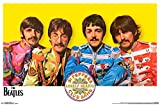 Trends International RP14589 The Beatles Sgt. Peppers Wall Poster, 22.375