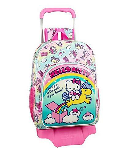 Hello Kitty Candy Unicorns Mochila Grande Ruedas, Carro, Trolley ...
