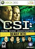 CSI: Deadly Intent - Xbox 360