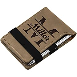 Personalized Notepad with Pen - Custom Engraved and Monogrammed for Free