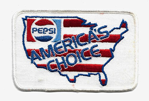 PEPSI America's Choice Vintage Collectors Patch -