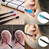 Micro-Bristle Reusable Ear Cleaner,360° Spiral