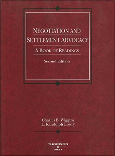 A strategy for a negotiated settlement?
