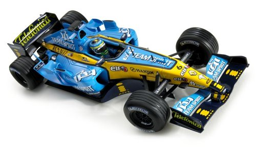 Mattel - Hot Wheels Racing G9730 - 1:18 Renault - G. Fisichella 2005