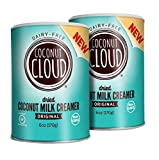 Coconut Cloud: Non-Dairy Creamer, Original Flavor ~ Gluten Free, Minimally Processed Made from Powdered Coconut Milk in Colorado | (A Better for Your Delicious Coffee Cream), 2-Pack 6 oz canisters