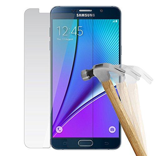 wortek Premium 9H Hartglas / Panzerglas für Samsung Galaxy Note 5 / Displayschutzglas / Tempered Glass / Panzer Glas Display Schutz Folie / Schutzglas / Echt Glas / Verbundglas / Glasfolie Sicherheits