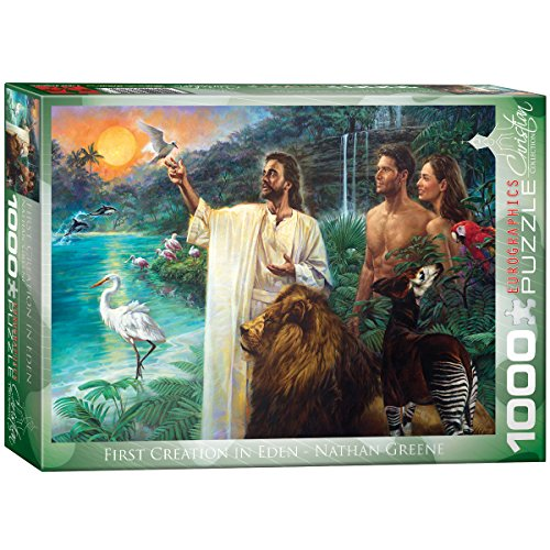 EuroGraphics First Creation Eden by Nathan Greene 1000-Piece Puzzle -