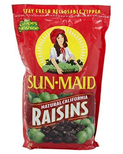 Sun Maid - California Raisins - 32 ounce Bag by Sun Maid