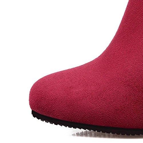 corto stivali resistenza cintura red Seasons fibbia scrub di HFour tacco Lady Verde grosso 37 antiscivolo usura nero della H Rosso Beige gomma SO6wxHqn