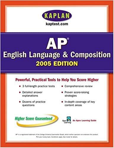 Ap english language and composition 2005 an apex learning guide ap english language and composition 2005 an apex learning guide kaplan ap english language composition illustrated edition edition fandeluxe Images