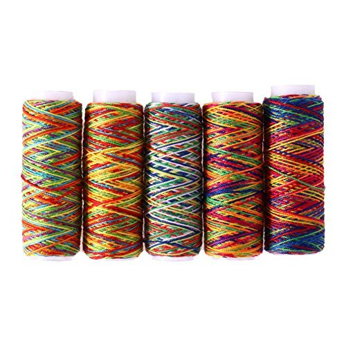 multicolored sewing floss - 5