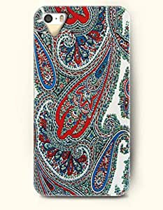 OOFIT Apple iPhone 4 4S Case Paisley Pattern ( Multi-Colored Buteh Flowers )