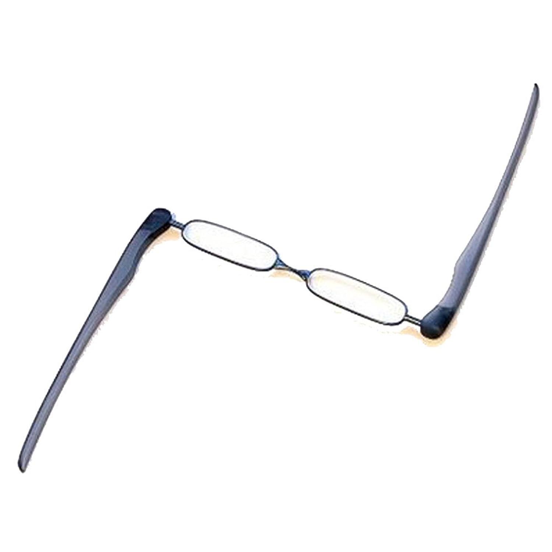 EnzoDate Podreader pieghevole occhiali, tasca Mini lettore, presbiti occhiali da lettura (Forza + 2.25, viola)