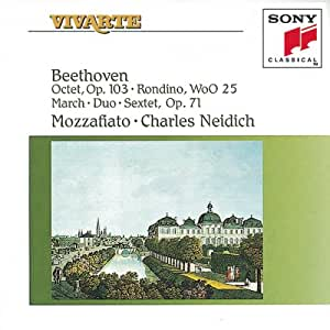 Vivarte- Beethoven: Octet- Sextet, Mozzafiato-Charles Neidich