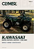 Clymer Kawasaki Bayou Klf220 & Klf250, 1988-2003: Service/Repair/Maintenance (Atv) (Clymer All-Terrain Vehicles)