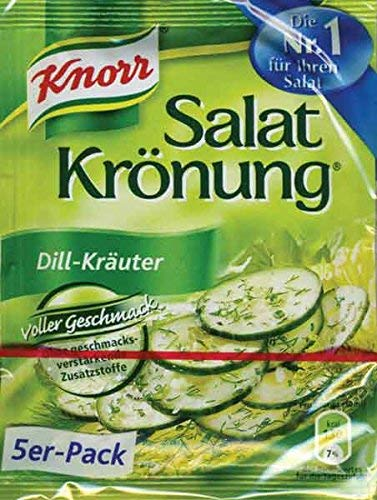 From Germany Knorr Salat Kronung Dill-Krauter Salad Herbs and Dill 5 -
