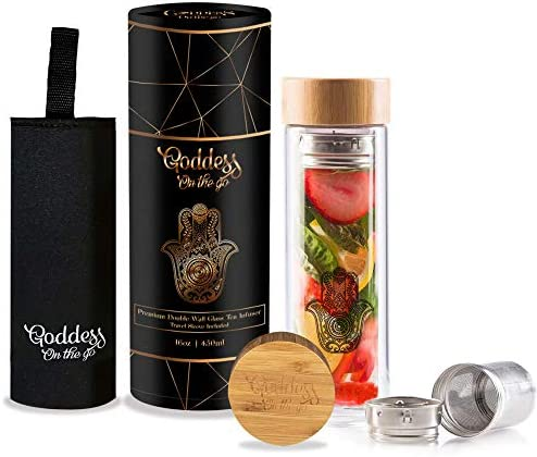 Goddess Tumbler Stainless Leakproof Infusion