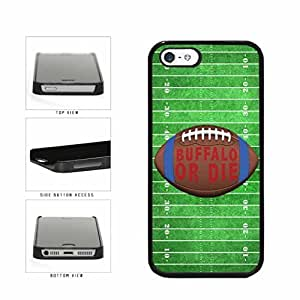 Buffalo or Die Football Field Plastic Phone Case Back Cover Apple iPhone 5 5s