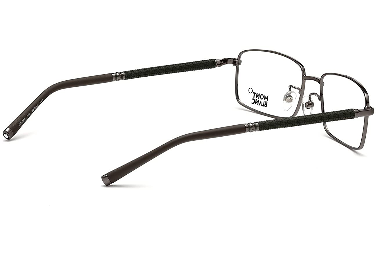 1a41c86365a Mont Blanc MB0396 Eyeglasses Color 012 at Amazon Men s Clothing store
