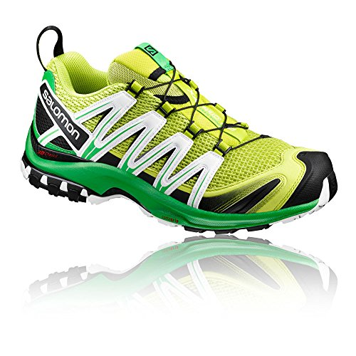 Salomon Mens Xa Pro 3d Trainer, Xx Verde / Bianco (lime Punch./classic Green / White)