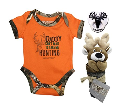 real-tree-daddys-hunting-buddy-bodysuit-with-camo-deer-blankie-and-pacifier