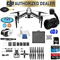 DJI Inspire 2 Quadcopter Kit with Zenmuse X5S Best Accessory Basic Bundle Package Deal