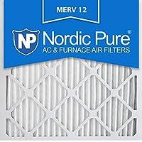 Nordic Pure 20x20x1M12-3 MERV 12 AC Furnace Filters (Quantity 3)