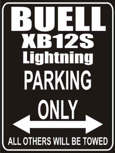 Parkplatz Parkplatzschild INDIGOS UG Parking Only buell-xb12ss-lightning-long