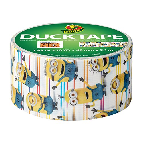 Duck Brand 241742 Despicable Me 3, Minions Licensed Duct Tape, 1.88 Inches x 10 Yards, Single Roll by Duck (Image #1)