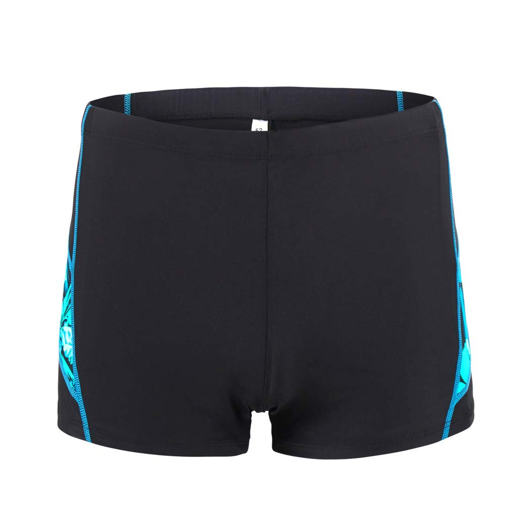 iLXHD Men Shorts Summer Quick Dry Swimwear Beach Surfing Running Swimming Short Pants Boxer Briefs Green