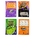 Halloween Peeps Marshmallow Candy Variety 4 Pack Ghosts Monsters Pumpkins Tombstones By Just Born