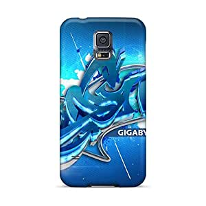 Protective Tpu Cases With Fashion Design For Galaxy S5 (3d Graffiti)