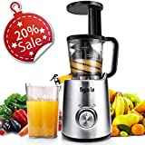 Argus Le Masticating Juicer, Slow Juice Extractor for Higher Nutrient and Vitamins, Easy