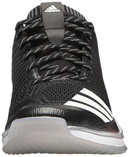 Scarpa Da Baseball Adidas Original Mens Freak X Carbon Mid Nero / Bianco / Onice
