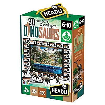 Headu 3d Dinosaurs Giant Puzzle Animal Figures