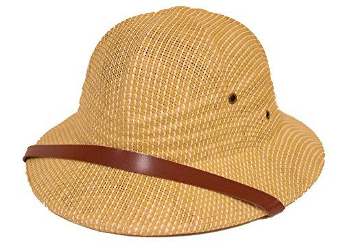 SUN SAFARI PITH HELMET/High Quality/khaki (Pith Helmet)