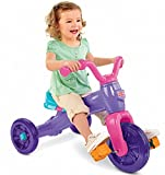 Fisher Price Grow With Me Trike- childrens Tricycle- Fun and Adventure- Wide Wheel Base for Stability- Slip-resistant Pedals- Easy-grip Handlebars