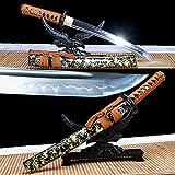 VARWANEO Iron Tsuba Japanese Wakizashi Sword Tanto