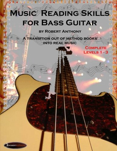 Read Online Music Reading Skills for Bass Guitar Complete Levels 1 - 3 PDF
