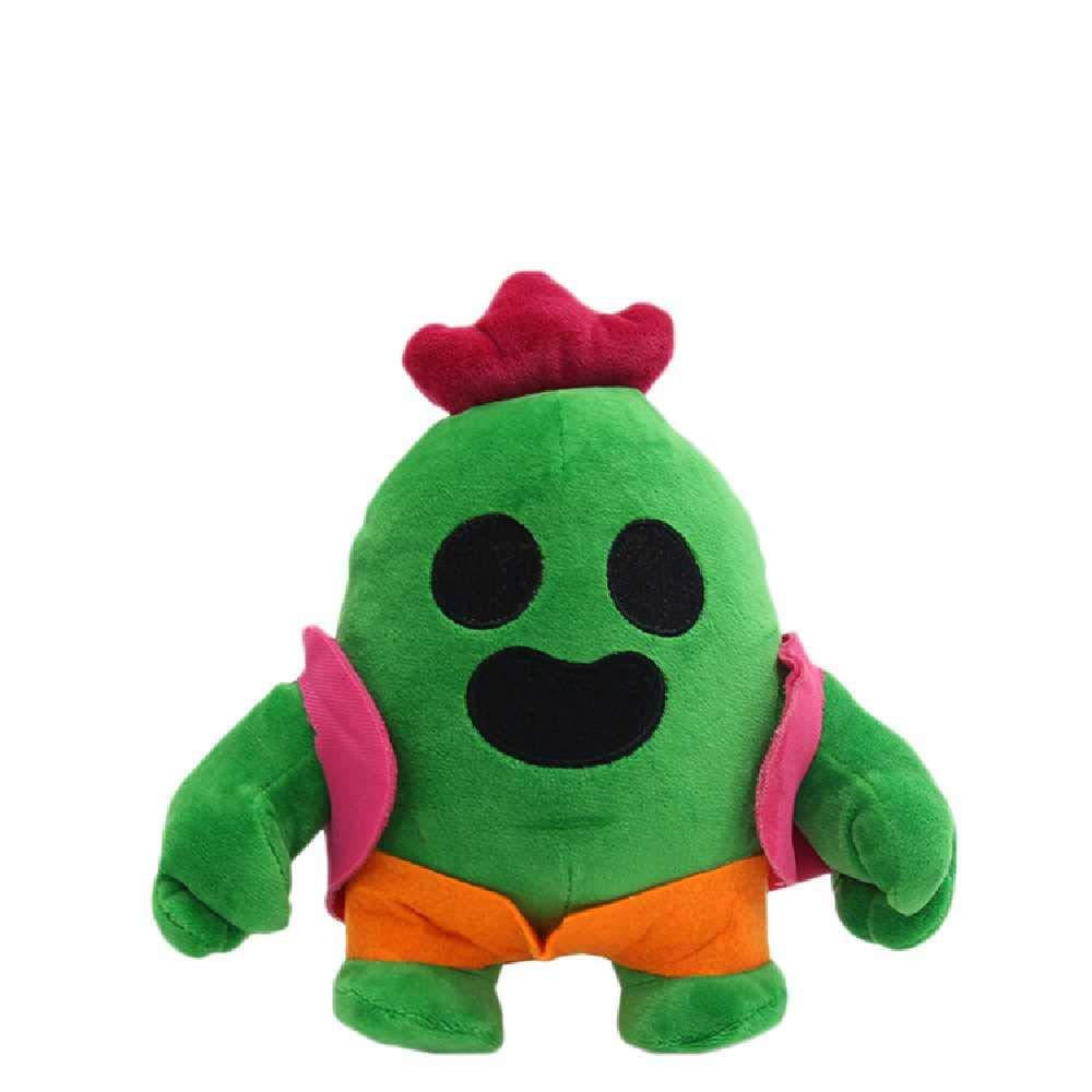minghui Wild Brawl Plush Doll Cactus Toy Cartoon Game Periferico Hero Doll Machine Regalo Creativo Girl 20CM //Cactus