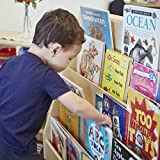 ECR4Kids Birch Pic-A-Book Display Stand with Dry