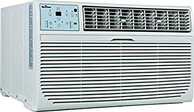 GARRISON 2477812 R-410A Through-The-Wall Heat/Cool Air Conditioner with Remote Control, 10000 BTU, White