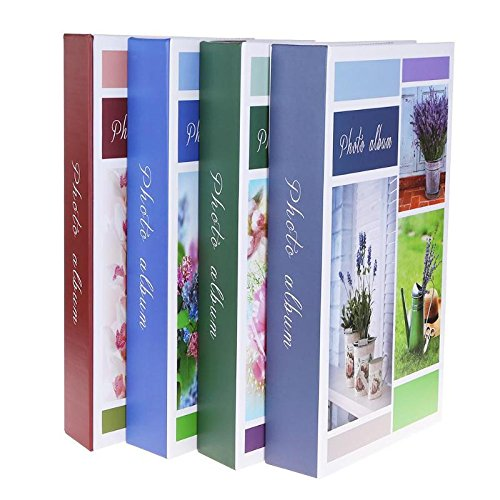 Transport-Accessories - 300 Sheets 6 inch Family Photo Album for Kids Children Birthday Wedding Pictures Container Interleaf Type Photo Albums from Transport-Accessories