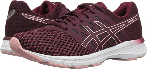 ASICS Womens Gel-Exalt 4 Running Shoe, Port Royal/Frosted Rose, Size 6.5