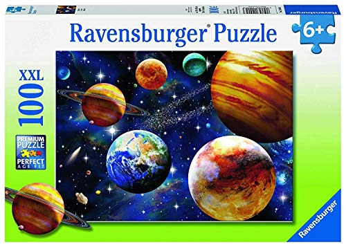Ravensburger Space 100 Piece Jigsaw Puzzle for Kids  Every Piece is Unique, Pieces Fit Together Perfectly