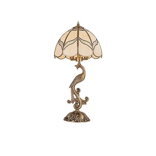 Bronce antiguo lámpara de mesa, estilo europeo de noche ...