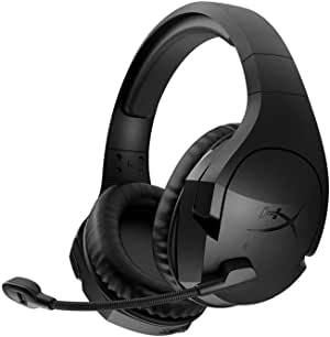 HyperX Cloud Stinger - Gaming Headset – Comfortable HyperX Signature Memory Foam, Swivel to Mute Noise-Cancellation Microphone, Compatible with PC Black