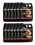 TriboDyn Case 20W50 JASO MA2 Fully Synthetic Motorcycle Oil- 12 Quart Case - Lowers Operating Temps, Increases Horsepower, Increases Fuel Mileage